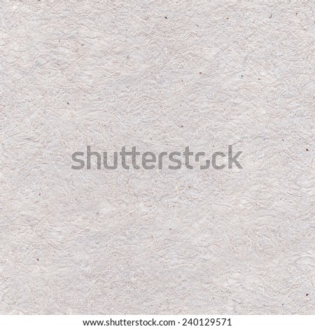 Handmade seamless paper, crushed fibers in background - stock photo
