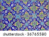 Handmade Tile in Topkapi Palace in Istanbul. - stock photo