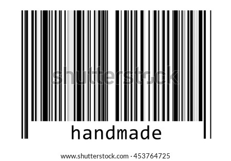 Handmade with barcode