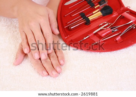 hands care - beauty treatment