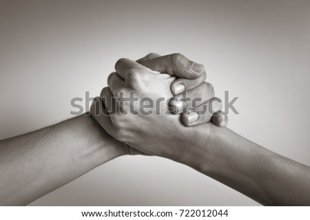 Hands coming together helping hand people stock photo 722012044 hands coming together helping hand people working together unity agreement platinumwayz