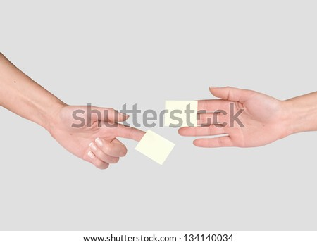 Papers Holding Hands