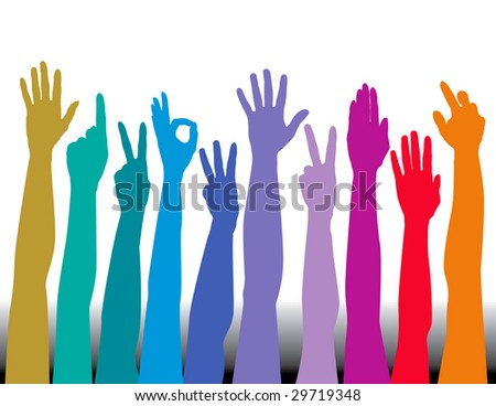 african american boy raising his hand male models picture