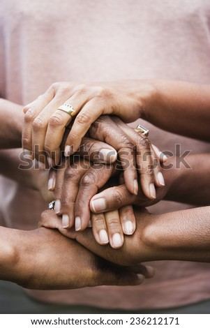 Hands of Three Women