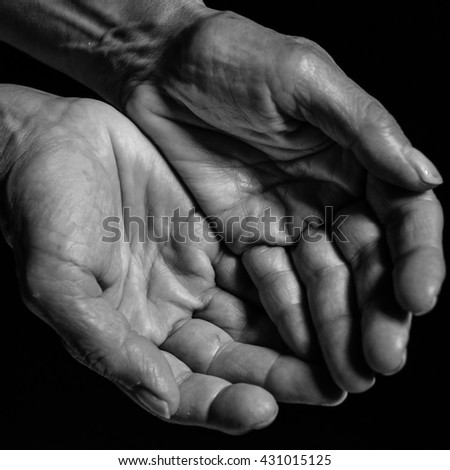 Hands of woman worker