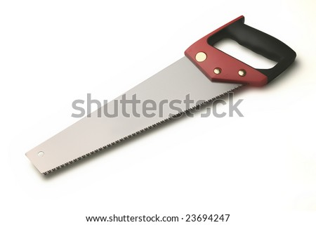 handsaw - stock photo