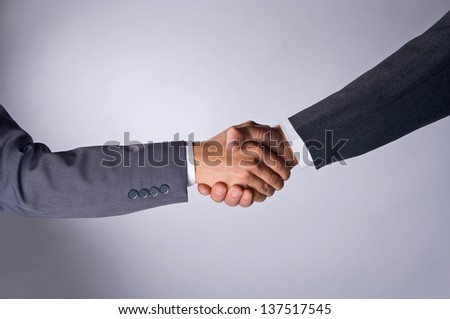 Handshake 02 - stock photo