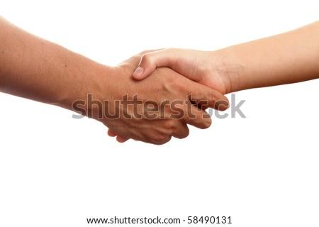 Handshake - stock photo