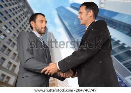 Handshake, Business, Businessman.