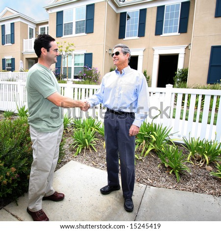Handshake Deal - stock photo
