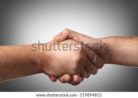 handshake High resolution - stock photo