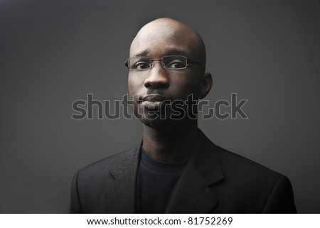 Handsome african businessman - stock photo