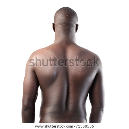 Handsome african man - stock photo
