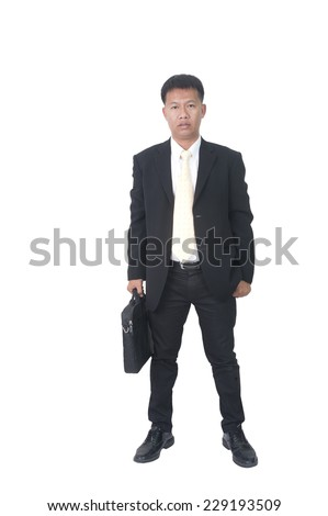 Handsome businessman portrait  - stock photo
