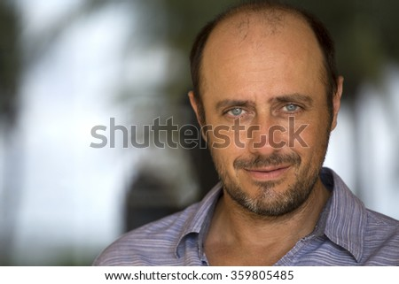Handsome forty year  old man  - stock photo