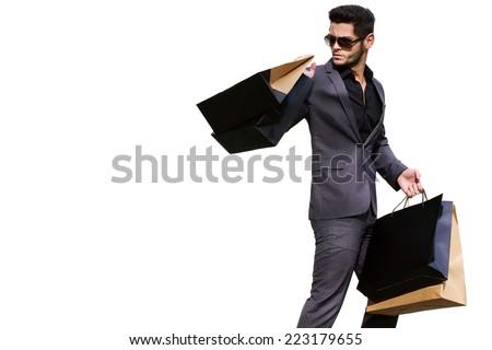 Man Shopping Bag Stock Images, Royalty-Free Images & Vectors ...