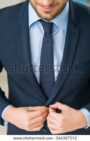 Handsome man wearing suit  - stock photo