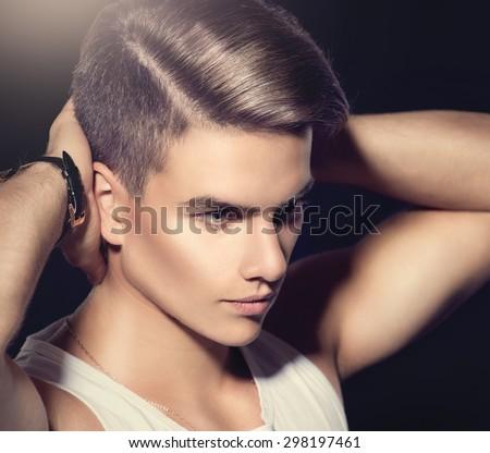 Amazing Male Hair Cut Stock Photos Royalty Free Images Amp Vectors Short Hairstyles Gunalazisus