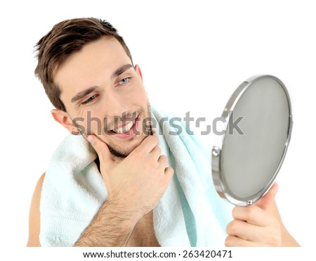 Hand Mirror Isolated Stock Photos Images Pictures