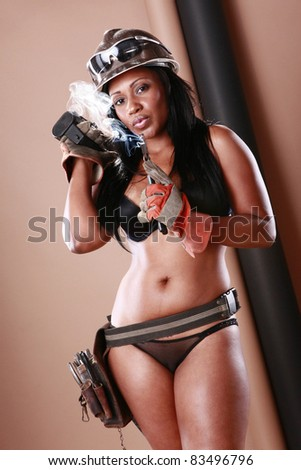 Handyman service is here - stock photo