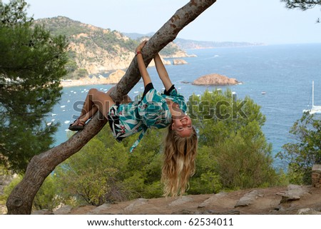 Hang in there - stock photo