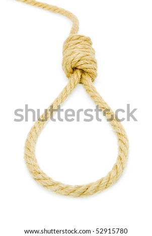 hang knot - stock photo