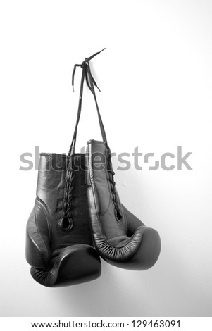 Hanging Boxing Gloves