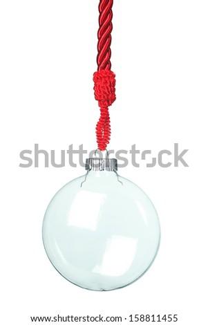 Hanging Christmas decoration - stock photo