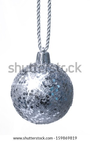 Hanging Christmas decoration - stock photo