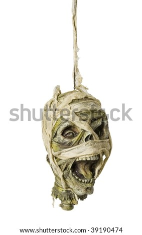 Hanging head - stock photo
