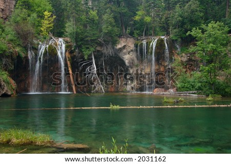 Hanging Lake, Colorado - stock photo
