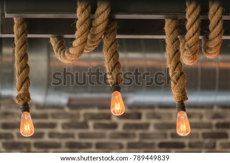 Rope lights stock images royalty free images vectors shutterstock hanging rope lights mozeypictures Choice Image