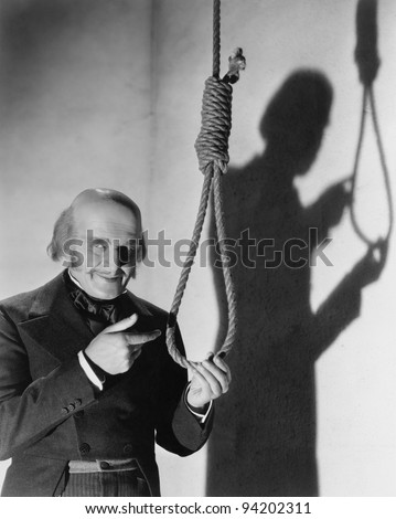 HANGMAN'S NOOSE - stock photo