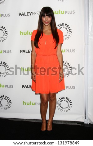 "Hannah Simone at ""The New Girl"" at PaleyFest 2013, Saban Theater, Beverly Hills, CA 03-11-13"