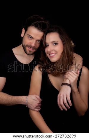 happy adult couple in love.  - stock photo