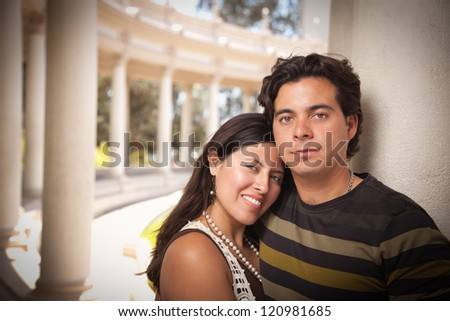Hispanic Couple Names Attractive Hispanic Couple