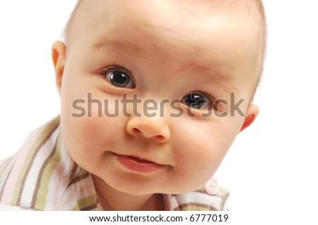 happy baby #15 - stock photo