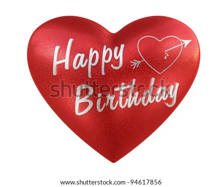 Happy Birthday, Heart Love Happy Birthday Heart render