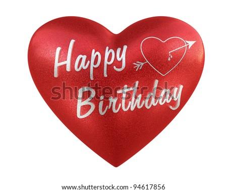 Happy Birthday, Heart Love Happy Birthday Heart render