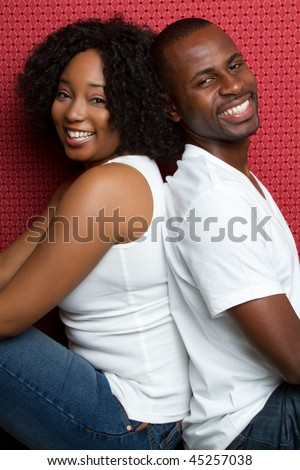 Happy Black Couple