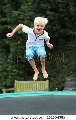 Kids Trampoline Stock s &