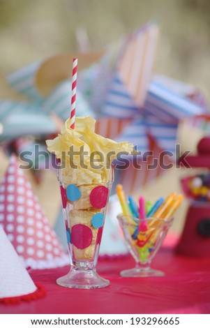 Happy Bright Birthday Party Celebration Decorations