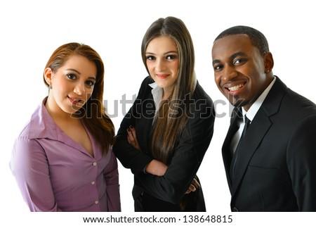 Happy Business Team - stock photo