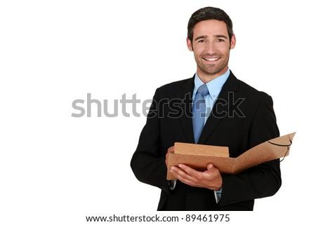 Happy Businessman Png