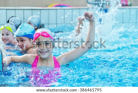 Kids Swimming kids swimming stock images, royalty-free images & vectors