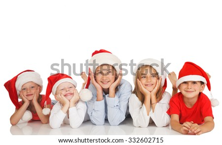 Happy children spread giggles and love around the world. - stock photo