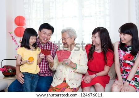 Happy chinese new year - stock photo