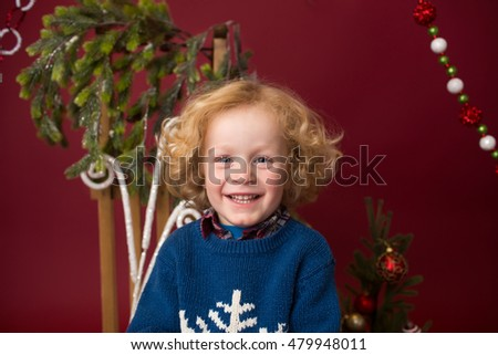 Happy Christmas Child: Holiday, x-mas setting