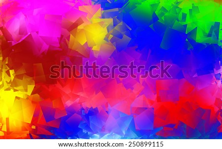 Happy Colorful abstract  background