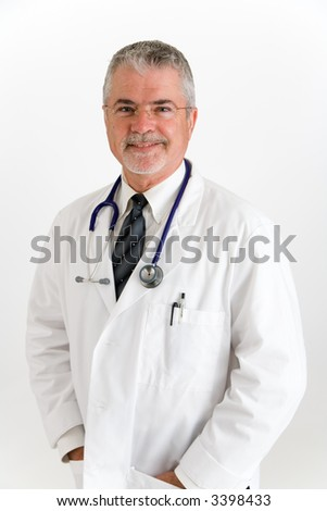 Happy confident Doctor